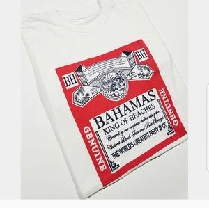 Bahamas Budweiser Beer Inspired Beach Summer Shirt